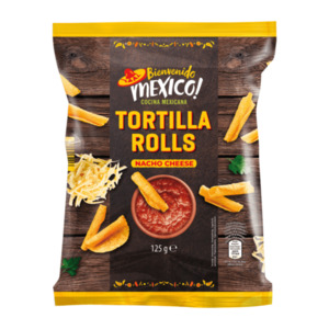 BIENVENIDO MEXICO     Tortilla Rolls