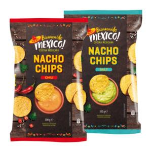 BIENVENIDO MEXICO     Nacho Chips