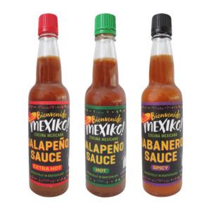 BIENVENIDO MEXICO     Scharfe Sauce