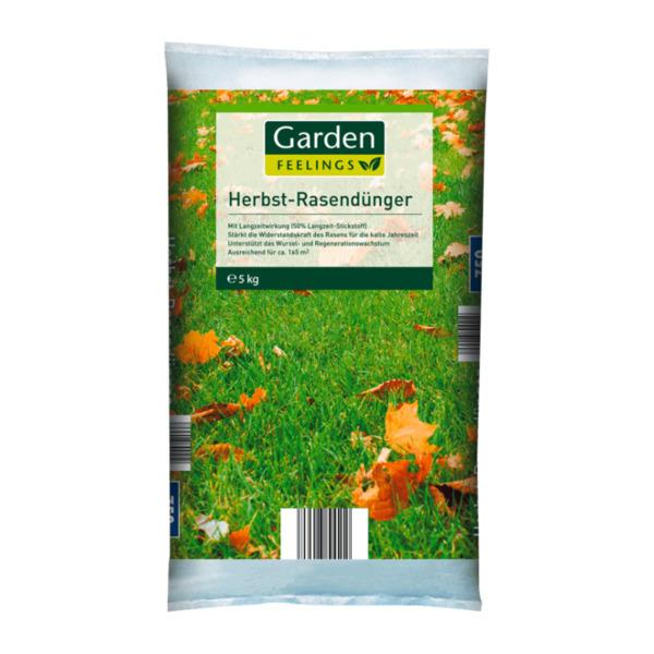 GARDEN FEELINGS     Herbst-Rasendünger