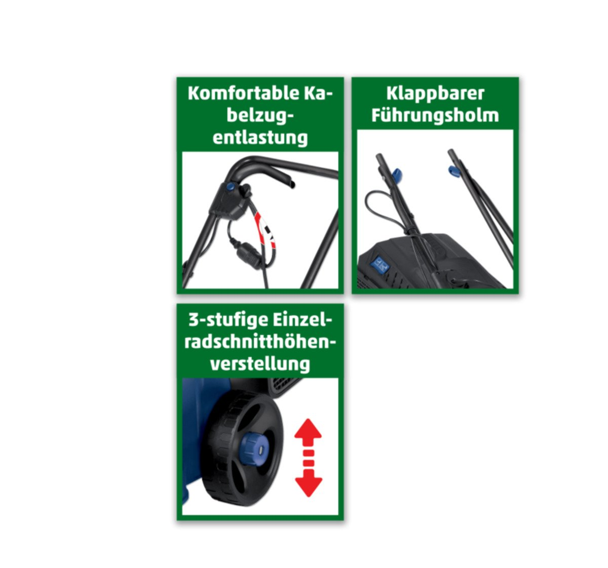 Bild 2 von EINHELL Elektrorasenmäher
