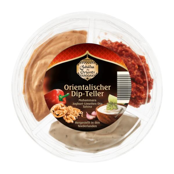 Orientalischer Dip-Teller