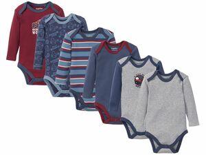 LUPILU® 6 Baby Jungen Bodys