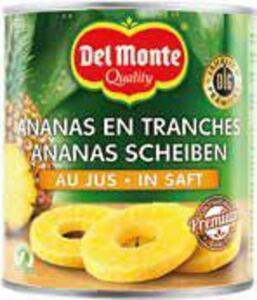 Del Monte Ananas-Scheiben