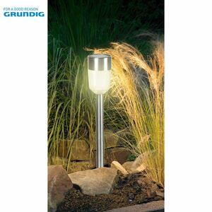 Grundig LED-Solarlicht Spike 4,5x36,5cm Warmweiß