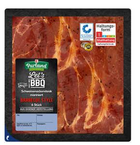 K-PURLAND  Schweinenackensteak Barbecue Style