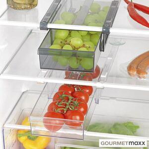 GOURMETmaxx Kühlschrank-Schubfächer XL 2er-Set