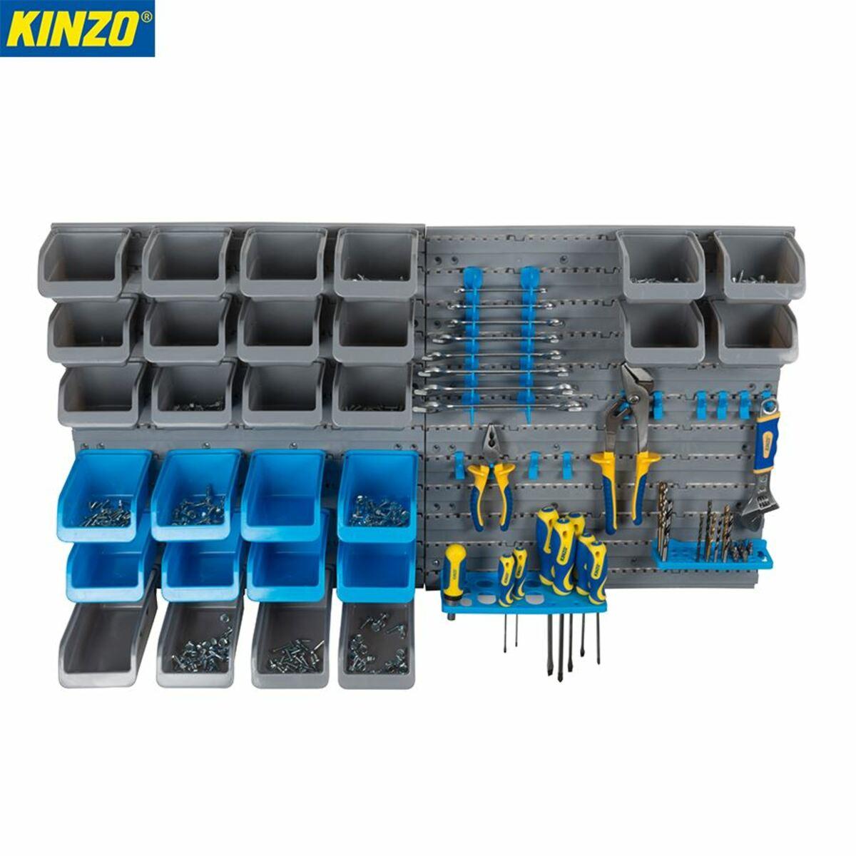 Bild 1 von Kinzo System-Lagerwand für Werkzeuge 45-teilig