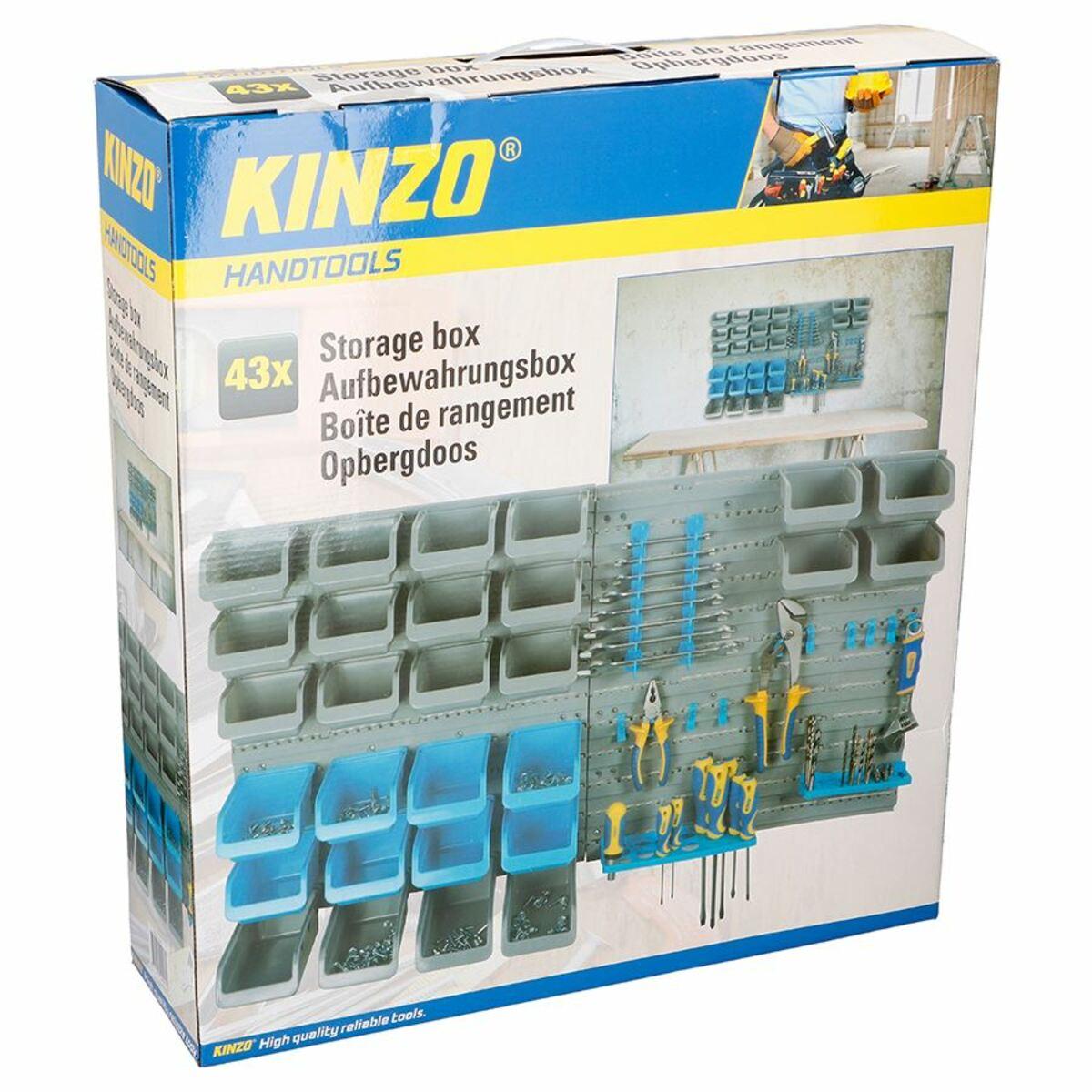 Bild 2 von Kinzo System-Lagerwand für Werkzeuge 45-teilig