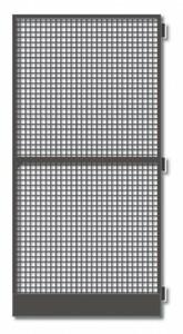 Schellenberg Insektenschutztür Standard ,  100 x 210 cm  braun