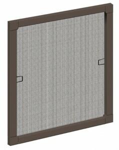 Schellenberg Insektenschutz-Fenster ,  Standard 100 x 120 cm  braun
