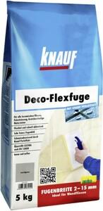 Knauf Deco-Flexfuge ,  sandgrau, 5 kg