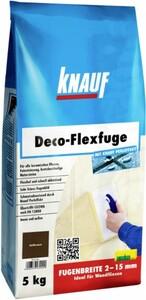 Knauf Deco-Flexfuge ,  tiefbraun, 5 kg