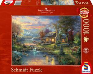 Schmidt Puzzle Im Naturparadies 1000 T