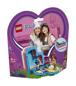 LEGO Friends 41387 Olivias sommerliche Herzbox