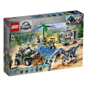 LEGO Jurassic World 75935 Baryonyxs Kräftemessen