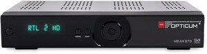 Opticum HD AX 670 HDTV Sat-Receiver