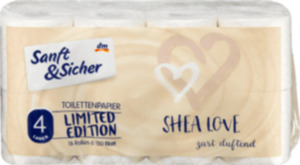 Sanft&Sicher Toilettenpapier Design Shea Love (16x150 Blatt), 2.400 Bl.