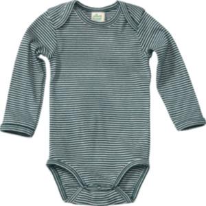 ALANA Baby-Body, in Bio-Baumwolle, Gr. 98/104, grün, weiß, für Mädchen und Jungen