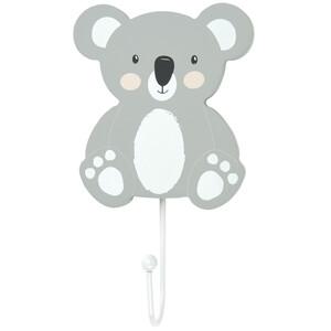 Kleiderhaken mit Koalabär-Motiv