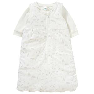 2 in 1 Newborn Schlafsack mit Allover-Print