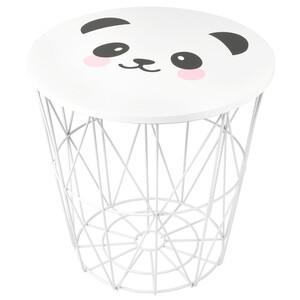 Beistelltisch mit Pandabär-Motiv