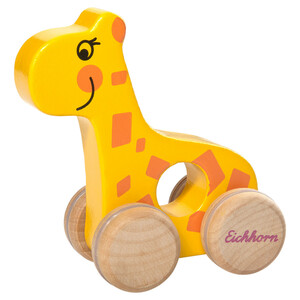 Eichhorn Holzschiebetier Giraffe