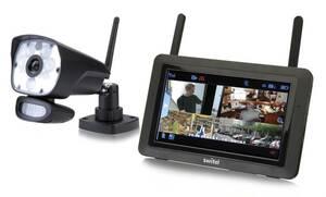 Digitales HD-Überwachungssystem HSIP6000 mit LED-Licht Switel