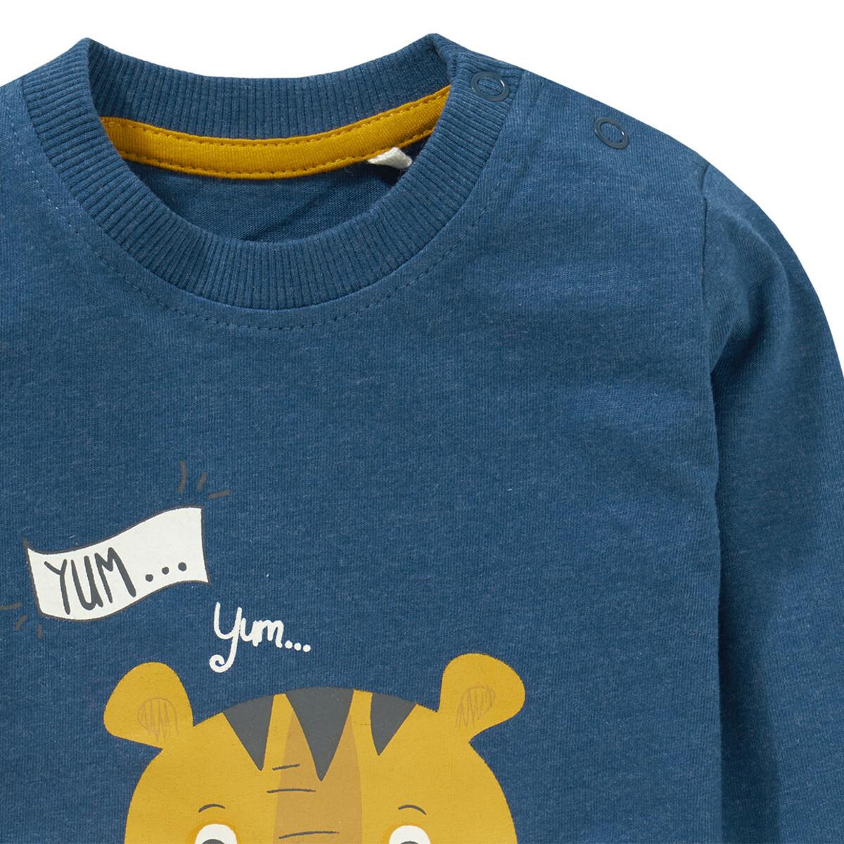 Bild 3 von Baby Langarmshirt mit Reißverschlusstasche