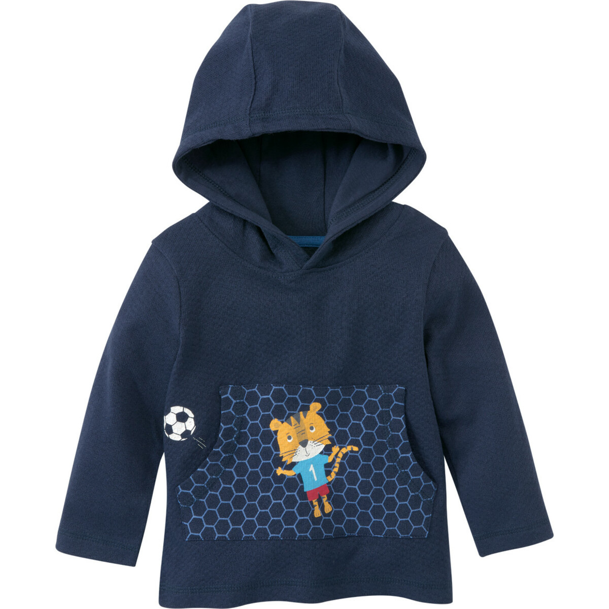 Bild 1 von Baby Kapuzenshirt mit Känguru-Tasche