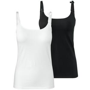 2 Damen Still-Unterhemden