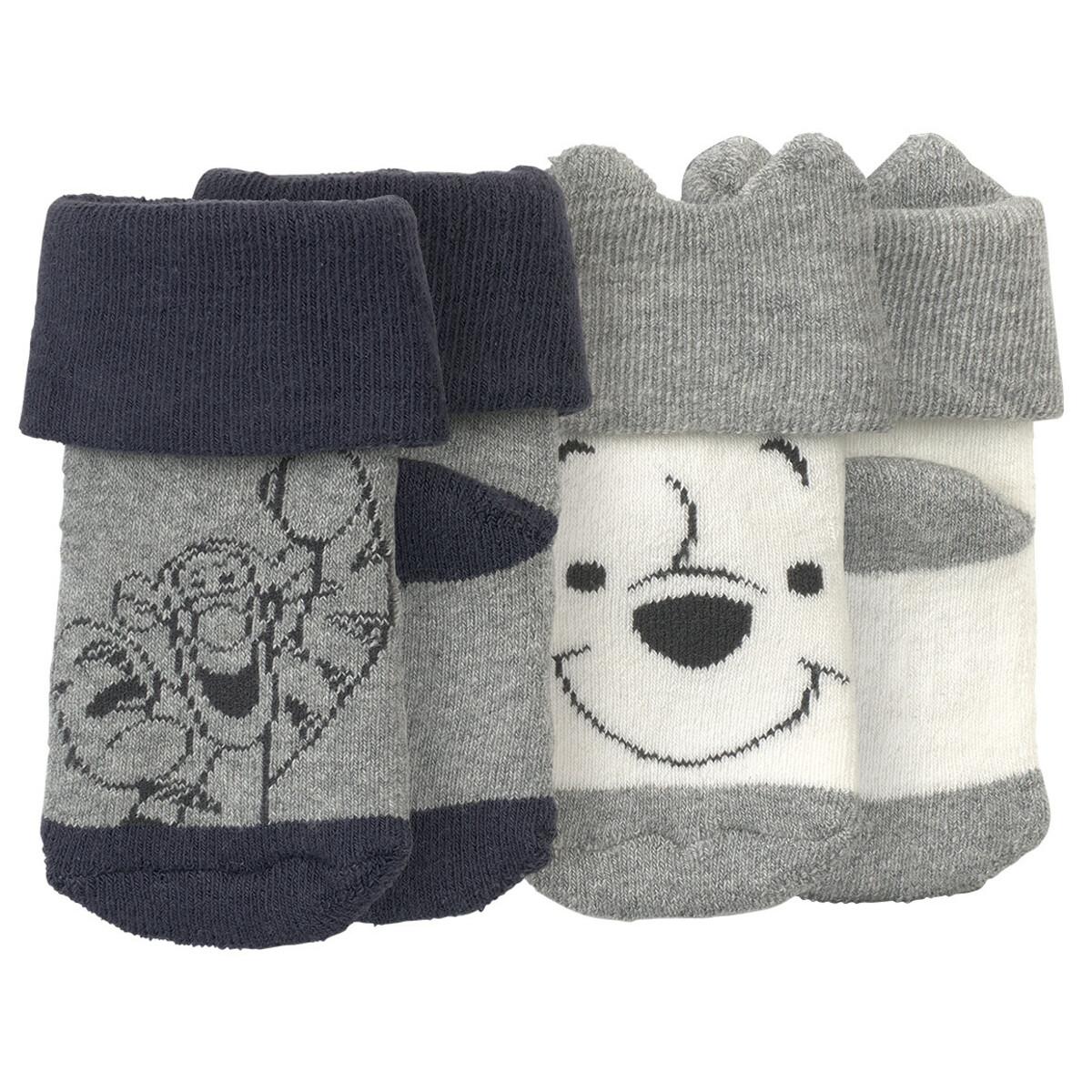 Bild 1 von 2 Paar Winnie Puuh Socken im Set