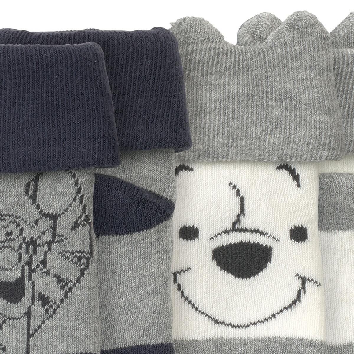 Bild 3 von 2 Paar Winnie Puuh Socken im Set