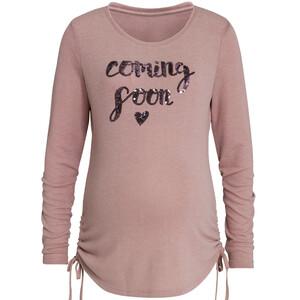 Damen Umstands-Sweatshirt mit Pailletten