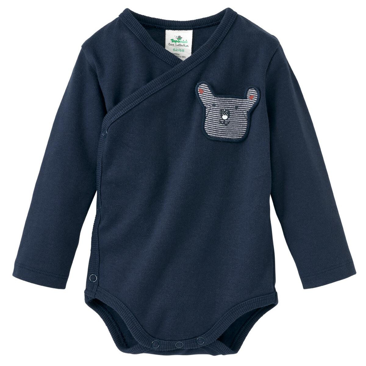 Bild 3 von 2 Newborn Wickelbodys mit Brusttasche