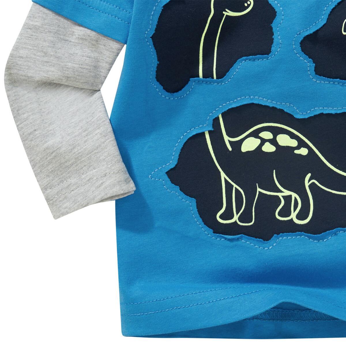 Bild 4 von Baby Langarmshirt mit Glow-in-the-Dark-Effekt
