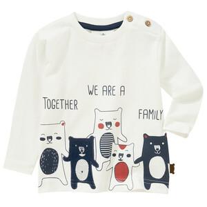 Baby Langarmshirt mit Bärchen-Motiven