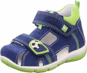 Baby Sandalen FREDDY , WMS-Weite M4 blau/grün Gr. 23 Jungen Kleinkinder