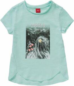 T-Shirt türkis Gr. 140 Mädchen Kinder