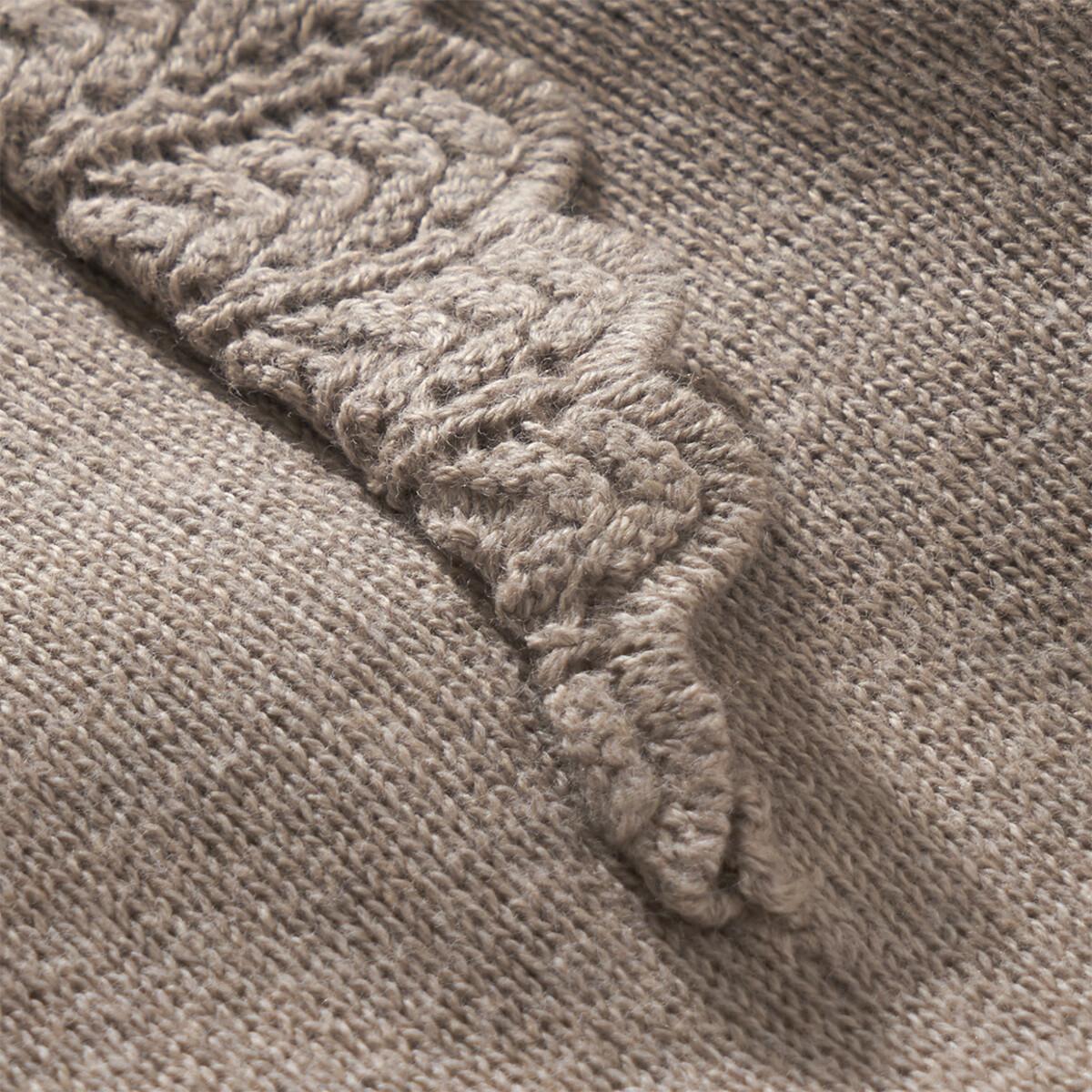 Bild 4 von Newborn Strickkleid mit Lochstickerei