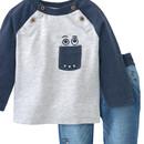 Bild 2 von Newborn Langarmshirt und Hose