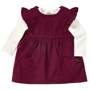 Newborn Kordkleid und Langarmshirt im Set