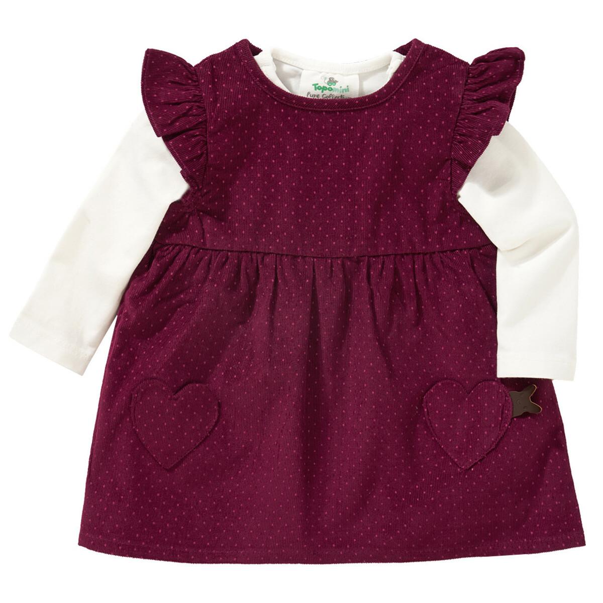 Bild 1 von Newborn Kordkleid und Langarmshirt im Set