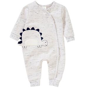 Newborn Schlafanzug mit Dino-Applikation