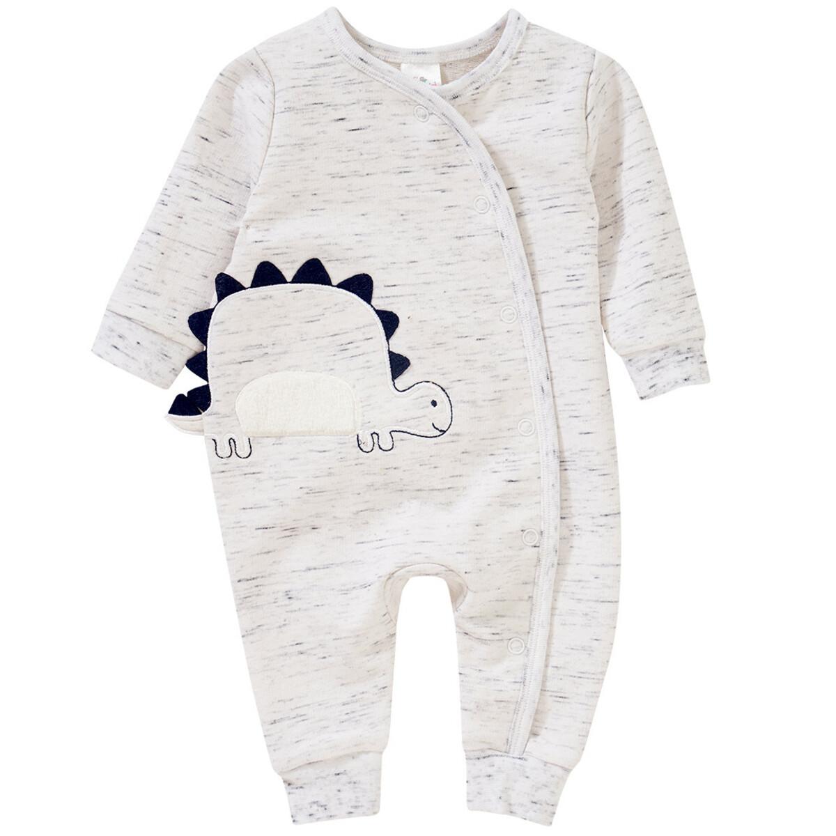 Bild 1 von Newborn Schlafanzug mit Dino-Applikation