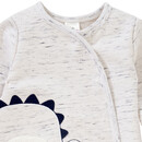 Bild 2 von Newborn Schlafanzug mit Dino-Applikation