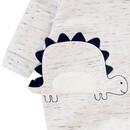 Bild 3 von Newborn Schlafanzug mit Dino-Applikation