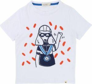 T-Shirt weiß Gr. 128 Jungen Kinder