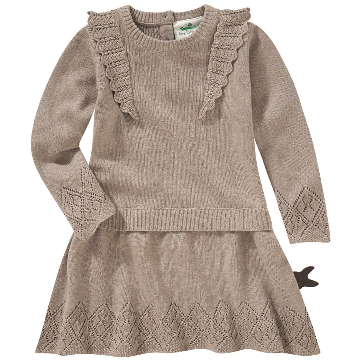 Bild 1 von Baby Strickkleid mit Rüschen