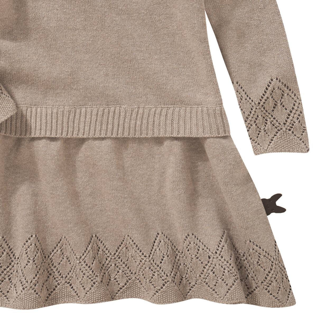 Bild 3 von Baby Strickkleid mit Rüschen